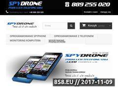 Miniaturka spydrone24.pl (Spydrone 24 - podsłuch telefonu z Androidem)