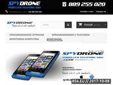 Zrzut strony Aplikacja Spydrone 24