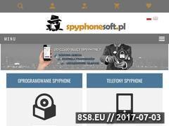 Miniaturka domeny spyphonesoft.pl