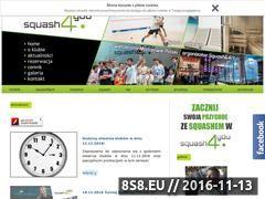 Miniaturka domeny www.squash4you.pl
