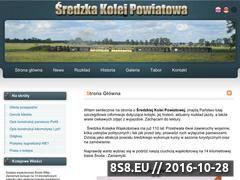 Miniaturka www.sredzkakolej.pl (Średzka Kolej Powiatowa)