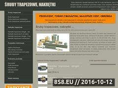 Miniaturka domeny www.sruby-trapezowe.pl