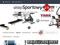 Miniaturka ss24.pl (Sprzęt sportowy, fitness, siłownia i skating)