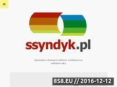 Miniaturka domeny ssyndyk.pl