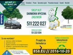Miniaturka domeny www.stacjakasacja.pl