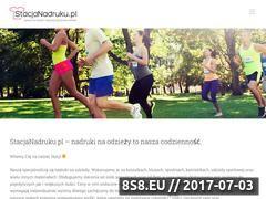 Miniaturka domeny stacjanadruku.pl
