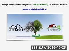 Miniaturka domeny www.stacjaturystyczna.pl