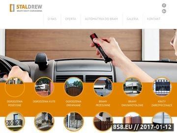 Zrzut strony Potrzebujesz nowej bramy Kraków zaufał firmie Stal-Drew.
