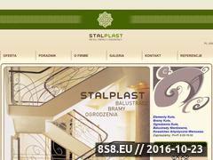Miniaturka domeny www.stalplast.pl