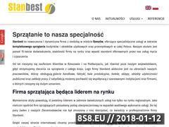 Miniaturka stanbest.pl (Sprzątanie budynków i obiektów, usługi mycia)