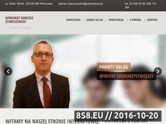 Miniaturka domeny www.staniszewski-kancelaria.pl
