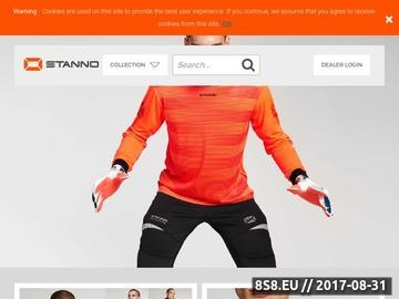 Zrzut strony Wyposażenie obiektów sportowych