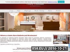 Miniaturka domeny www.starastolowka.pl
