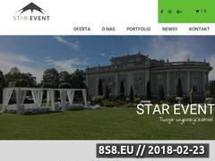 Miniaturka www.starevent.pl (Wypożyczalnia mebli eventowych)
