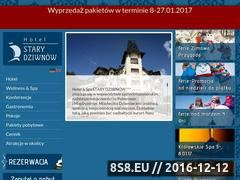 Miniaturka domeny www.starydziwnow.pl