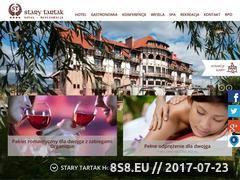 Miniaturka domeny www.starytartak.com.pl