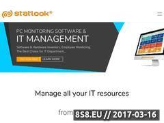 Miniaturka www.statlook.com (Oprogramowanie do zarządzania IT)