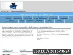 Miniaturka www.statystyka.rzeszow.pl (Statystyk Rzeszów - statystyka Rzeszów)