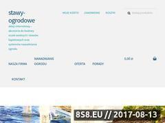 Miniaturka domeny stawy-ogrodowe.pl