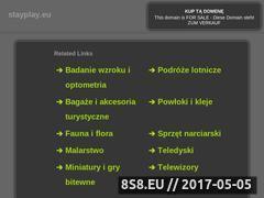 Miniaturka domeny stayplay.eu