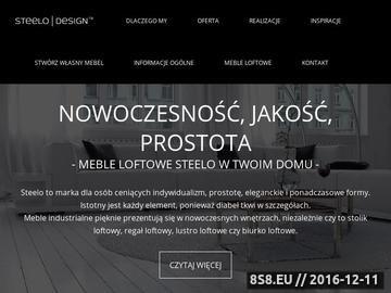 Zrzut strony Biurko industrialne i meble skandynawskie Kraków