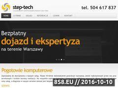 Miniaturka domeny www.step-tech.pl