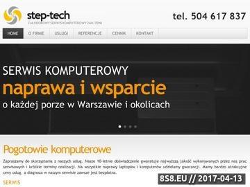 Zrzut strony TANI SERWIS KOMPUTEROWY, WARSZAWA, DOJAZD 0ZŁ 0504 617 837