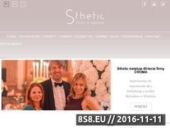 Miniaturka domeny sthetic.pl