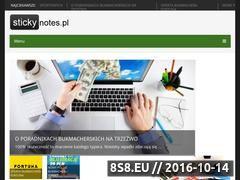 Miniaturka domeny www.stickynotes.pl
