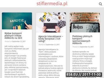 Zrzut strony Reklama w internecie