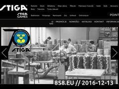 Miniaturka domeny www.stiga-tenis.pl