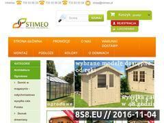 Miniaturka domeny stimeo-domki.pl