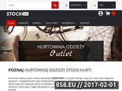Miniaturka Firma oferuje odzież (stockhurt.com)