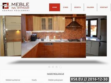 Zrzut strony Meble na zamówienie