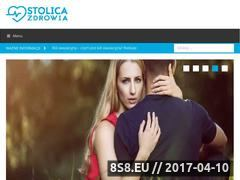Miniaturka domeny stolicazdrowia.pl