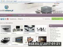Miniaturka domeny www.stolikiszklane.pl