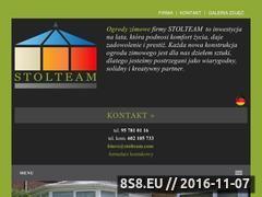 Miniaturka domeny www.stolteam.com