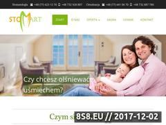 Miniaturka stomart.opole.pl (Stomatolog Opole, chirurgia, implanty i protetyka)