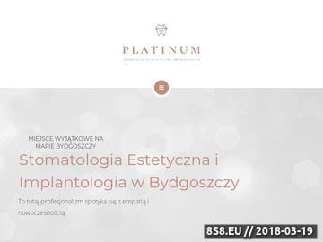 Zrzut strony Stomatologia Platinum - chirurg szczękowy