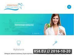 Miniaturka domeny www.stomatolog-przymorze.pl