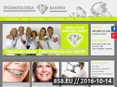 Miniaturka domeny stomatologia-banino.pl