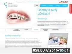 Miniaturka domeny www.stomatologia-szczecin.com.pl