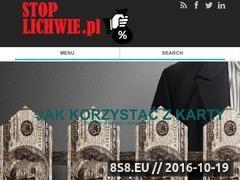 Miniaturka Portal wiedzy o finansach (stoplichwie.pl)