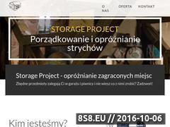 Miniaturka Wywóz, opróżnianie, sprzątanie i czyszczenie (storageproject.pl)