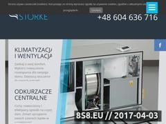 Miniaturka storke.pl (Montaż wentylacji Łódź)