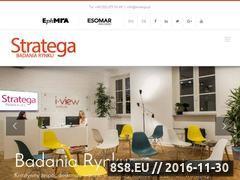 Miniaturka domeny strategaresearch.pl