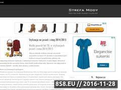 Miniaturka domeny strefa-mody.com.pl