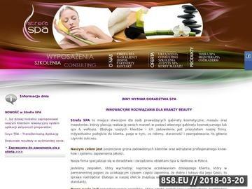 Zrzut strony Strefa SPA sklep z kosmetykami Phytomer Academie BodyCoffee
