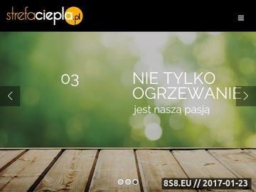 Zrzut strony Strefaciepla.pl - Profesjonalne doradztwo grzewcze