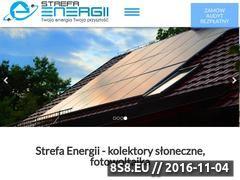 Miniaturka strefaenergii.com (Panele fotowoltaiczne - Strefa Energii Kraków)